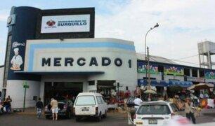 Surquillo: limpiaron y fumigaron Mercado N°1 para frenar expansión del coronavirus
