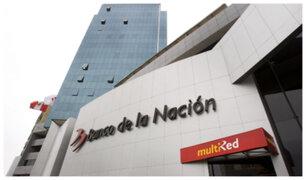 Banco de la Nación suspendió el pago de bono de 380 soles