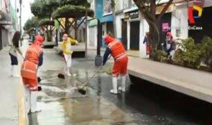 Realizan limpieza de desinfección en mercado de Magdalena