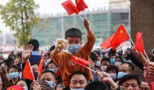 Covid-19: millones de chinos celebran por anticipado fin de cuarentena