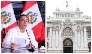 Coronavirus en Perú: Vizcarra pedirá facultades al Congreso para tomar nuevas medidas
