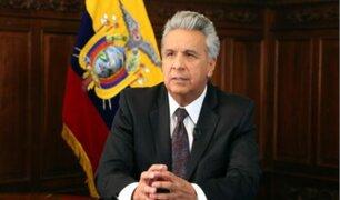 Ecuador: presidente Lenín Moreno amplió toque de queda a todo el país para frenar coronavirus