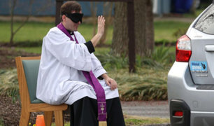 Así ofrecen los curas el sacramento de la confesión en tiempos de coronavirus