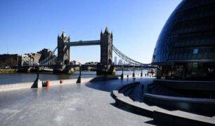 Coronavirus en Reino Unido: calles parcialmente vacías en primer día de confinamiento