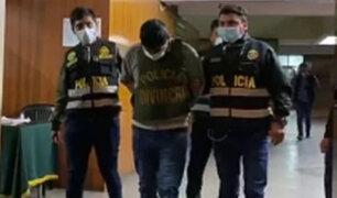 Arequipa: capturan a sujeto acusado de asesinar de varias puñaladas a conviviente