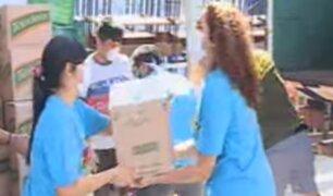 VMT: parroquia comenzó a donar 4 mil canastas de víveres a familias vulnerables ante cuarentena