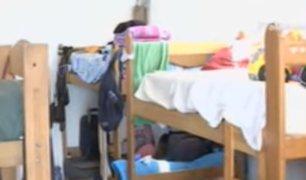 Venezolanos en albergues temen contraer el COVID-19