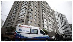¿Qué sucede con los vecinos de edificio tras muerte de paciente con coronavirus?