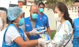 Solidaridad durante pandemia: reparten víveres a personas necesitadas en San Miguel