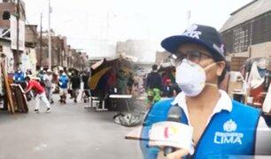"""Desalojan a ambulantes y """"cachineros"""" de avenida Nicolás Ayllón en Cercado de Lima"""