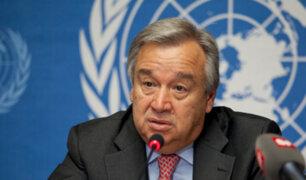 Contra la pandemia: ONU lanza plan para hacer frente al virus que amenaza a la humanidad