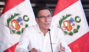 Martín Vizcarra: 83 % aprueba gestión del mandatario, según Ipsos