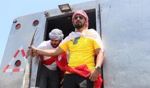 Yaqoob Mubarak: empresario árabe repartió dos toneladas de pescado en Trujillo