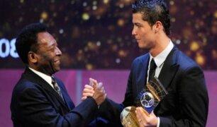 Pelé aseguró que Ronaldo es mejor que Messi