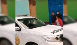 Cajamarca: detienen a alcalde de Querocoto por beber alcohol durante estado de emergencia