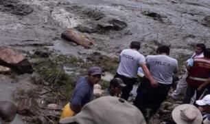 Encuentran dos cadáveres de presuntas víctimas de naufragio en Puno