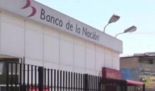 Banco de la Nación reporta a una trabajadora infectada con coronavirus