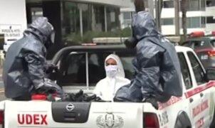Coronavirus en Perú: realizan segunda prueba de descarte a canadiense que deambulaba en las calles