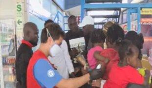 Grupo de haitianos que quedó varado en Perú pide ayuda para llegar a su destino