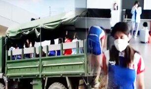 Tumbes: delegación de Judo varada en Ecuador regresó a casa