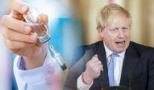 Reino Unido promete 230 millones de euros para impulsar la vacuna contra el coronavirus