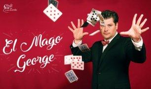 El mago George enseña trucos de magia gratis para niños durante aislamiento