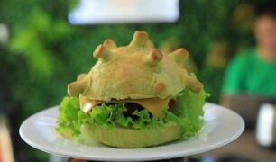 Coronavirus en Vietnam: crean hamburguesa inspirada en el COVID-19
