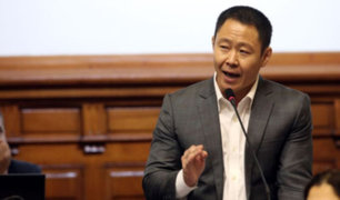 Poder Judicial anuló impedimento de salida del país Kenji Fujimori