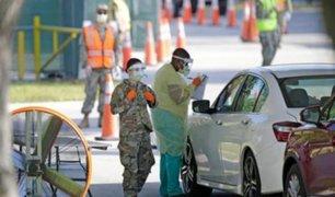 Estados Unidos superó en cifra de contagiados por COVID-19 a China