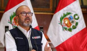 "Ministro Zamora: menor internada por Covid-19 está ""francamente recuperada"""