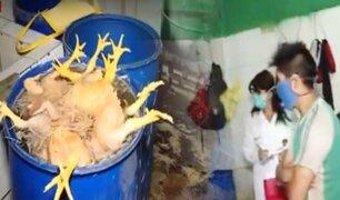 Se realiza operativo contra avícolas informales en La Victoria