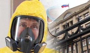 Rusia: se registra un caso de coronavirus en la Administración de Vladímir Putin