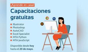 Aislamiento productivo: MML ofrece capacitaciones virtuales gratis