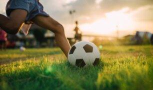 Joven violó la inmovilización social para ir a jugar fútbol