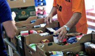 Empresa privada se organiza para donar víveres a familias en zonas vulnerables