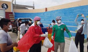 Yaqoob Mubarak: empresario árabe repartió canastas de víveres en Trujillo