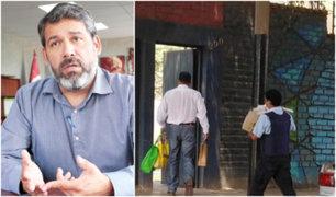 """Alcalde de Barranco dijo que llevó donaciones porque """"no había nadie en la municipalidad"""""""