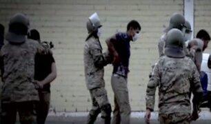 Estado de emergencia: Fuerzas Armadas pueden hacer uso de la fuerza