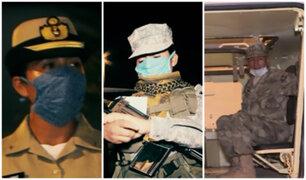 Coronavirus en Perú: cadetes resguardan calles durante toque de queda