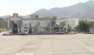 Barrios Altos: así luce el cementerio El Ángel tras el estado de emergencia