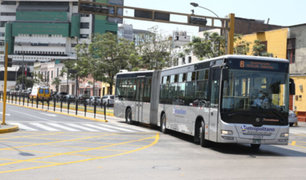 Metropolitano: anuncian paralización del servicio este 15 de julio