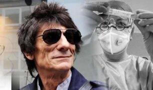 Ron Wood, de los Rolling Stones, aconseja a los que sufren de adicciones en la cuarentena