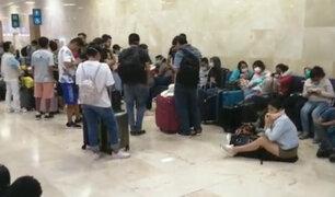 Peruanos varados en México y Colombia piden vuelos humanitarios para regresar al país