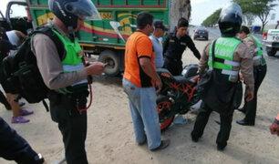 Piura: policía muere en accidente de tránsito tras quedarse dormido