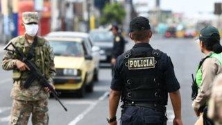 Estado de emergencia: La Libertad registró menor cantidad de detenidos