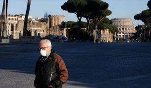 Cae número de contagiados por COVID-19 en Italia