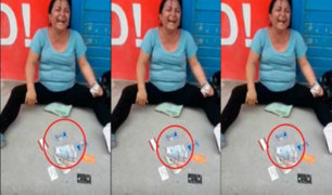 San Martín: mujer se burla de bono de S/380