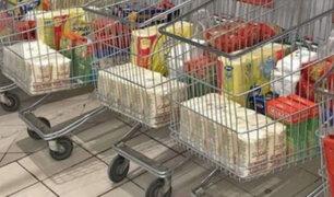 "Covid-19: con ""Carritos del apocalipsis"" rusos evitan compras de pánico"