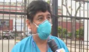 Hospital María Auxiliadora: enfermeros denuncian que no reciben la misma prioridad que médicos