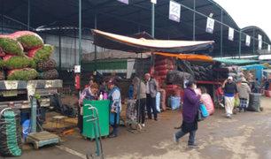 SJL: mercado 1 de Setiembre está abarrotado de comerciantes